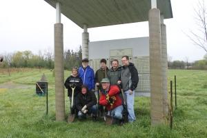 Tree planting event
